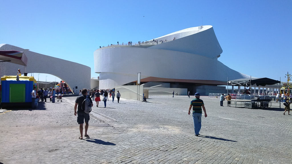 Cruise Terminal in haven van Leixões Matosinhos